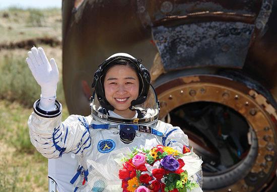 Nữ phi hành gia Lưu Dương.