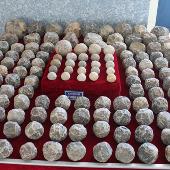 Phát hiện kho đạn đá cổ tại di sản Thành nhà Hồ