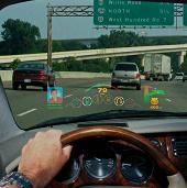 Vô lăng hướng dẫn tài xế lái xe khi bị chói sáng