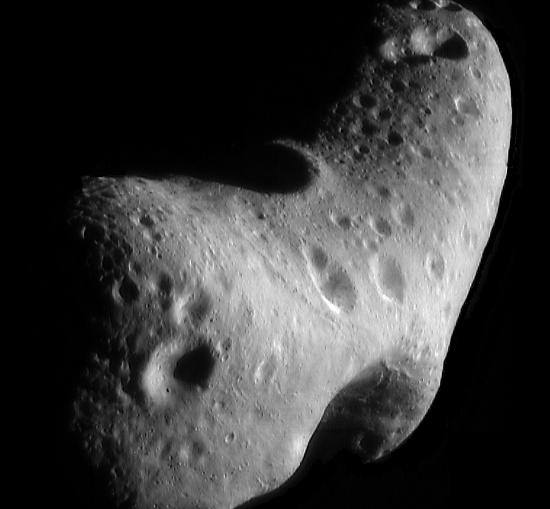 Tiểu hành tinh Eros từng bay sát Trái đất hồi năm ngoái.