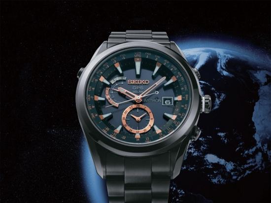 Seiko Astron GPS Solar là chiếc đồng hồ toàn cầu.