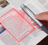 Độc đáo chiếc bút có khả năng scan tài liệu và ghi âm