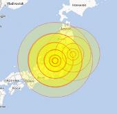 Động đất gây rung lắc ở Tokyo