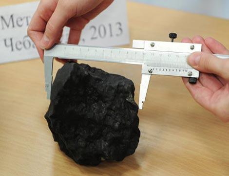 Mảnh vỡ thiên thạch được tìm thấy trong một chuyến thám hiểm cuối tuần trước.