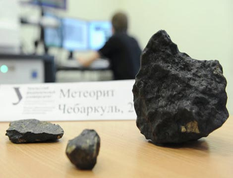 Các nhà khoa học đang tiến hành nghiên cứu sâu hơn mảnh thiên thạch.