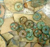 Phát hiện 34kg tiền đồng cổ niên đại hàng ngàn năm