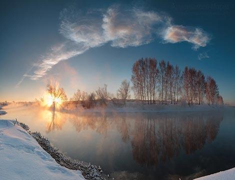 Thiên thạch đã lao vào vùng trời khu vực  Chelyabinsk và phát nổ trên bầu khí quyển hôm 15/2.