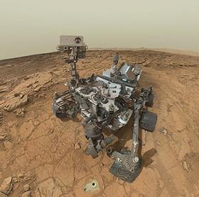 Tàu Curiosity thấy bộ xương động vật lạ trên Sao Hỏa