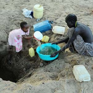 Nhiều nước châu Phi thiếu nước ngọt trầm trọng
