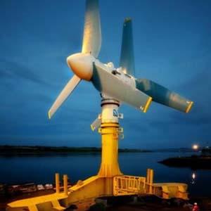 Năng lượng xanh từ thủy triều