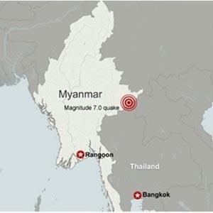 Việt Nam chịu dư chấn động đất mạnh cấp 5-6