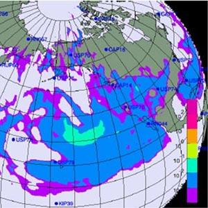 Có thể mây nhiễm xạ không đến Việt Nam
