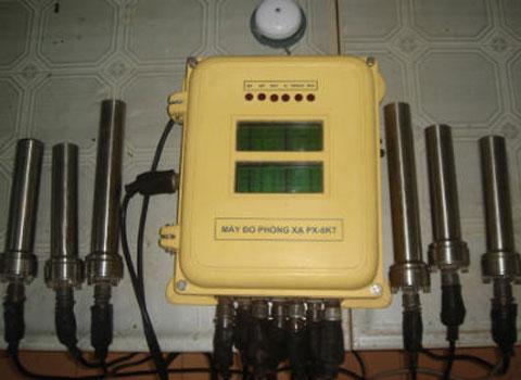 Việt Nam chế máy đo phóng xạ cho tàu chiến