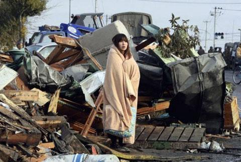 """""""Vết sẹo"""" trong tim nạn nhân sóng thần Nhật"""