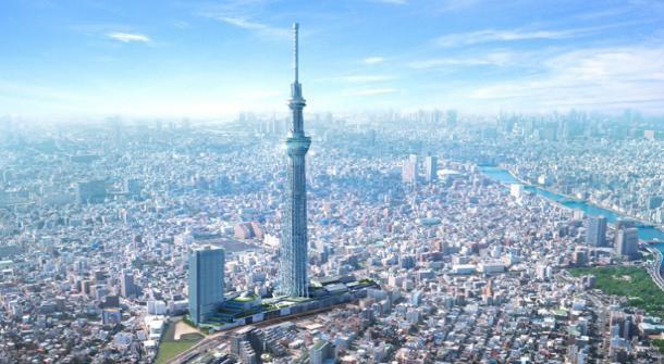 Công nghệ trên tháp TV Tokyo Sky Tree