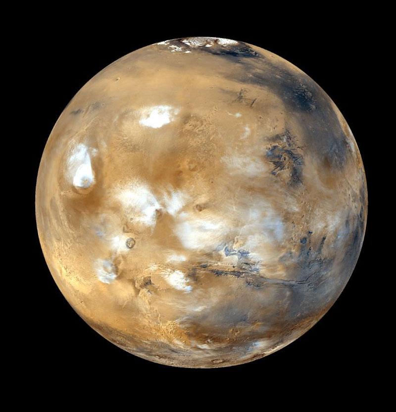 Sao Hỏa và trái đất xích lại gần nhau