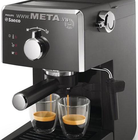 Pha cafe Espresso ngon với máy pha cà phê
