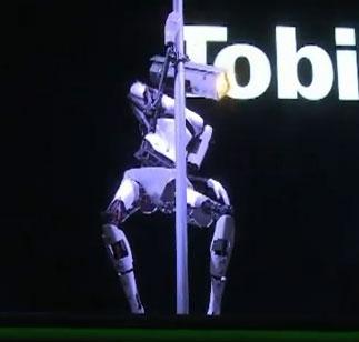 Video: Xem robot múa cột