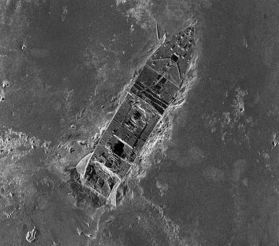 Công bố bản đồ vùng đắm tàu Titanic đầu tiên