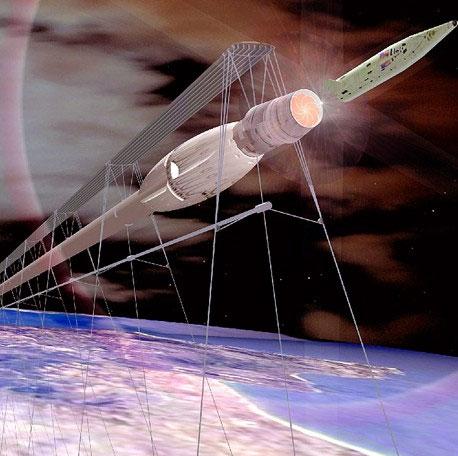 Tàu đệm từ đưa người lên vũ trụ
