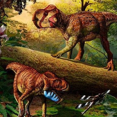 """Phát hiện hóa thạch khủng long có sừng """"siêu tí hon"""""""
