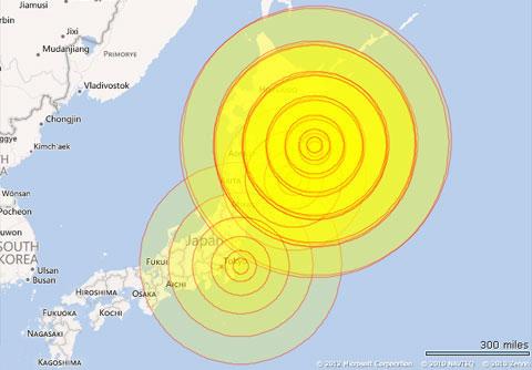 Động đất rung chuyển Nhật, gây cảnh báo sóng thần