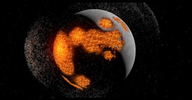 Sự hình thành của mặt trăng