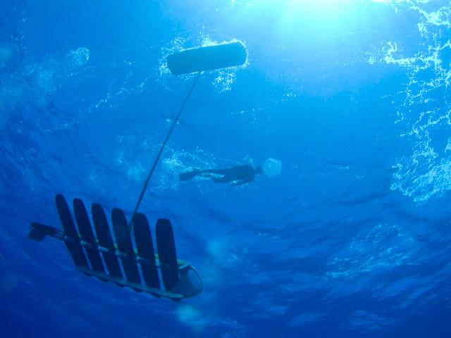 Robot không người lái phá kỷ lục thế giới bơi