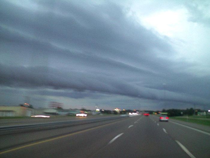 """""""Mây lốc xoáy"""" xuất hiện tại Mỹ"""