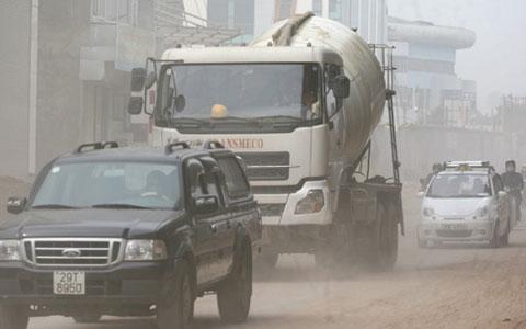 Giao thông - thủ phạm số 1 gây ô nhiễm không khí