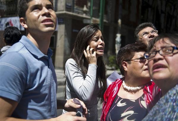 Mexico rung chuyển vì vụ động đất 7,4 độ Richter