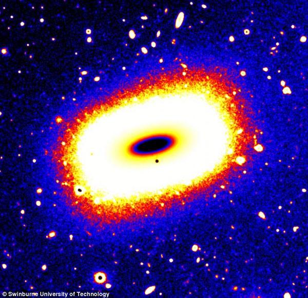 Phát hiện dải ngân hà hình chữ nhật