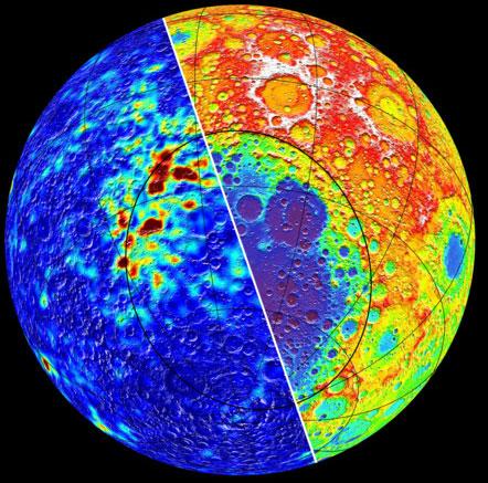 Từ trường trên Mặt Trăng do thiên thạch cổ sinh ra