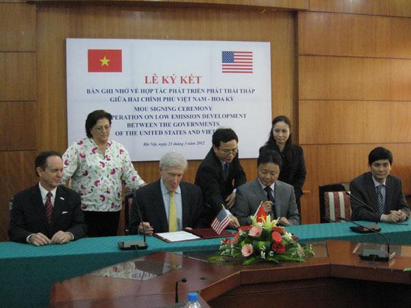 Hợp tác phát triển phát thải thấp Việt Nam - Hoa Kỳ