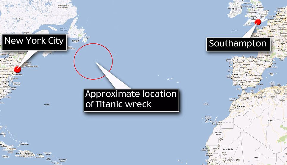 Tàu Tinanic trông ra sao sau một thế kỉ chìm dưới biển?