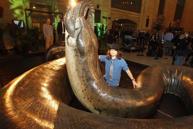 Phục dựng lại loài bò sát khổng lồ tại bảo tàng New York