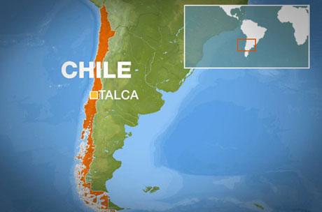 Chile rung chuyển bởi động đất mạnh