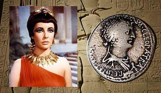 Vẻ đẹp của nữ hoàng Cleopatra