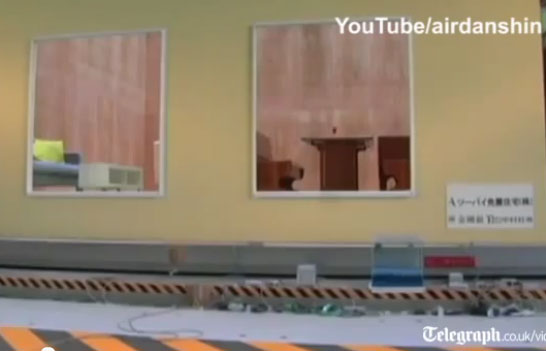 Video: Túi hơi chống động đất