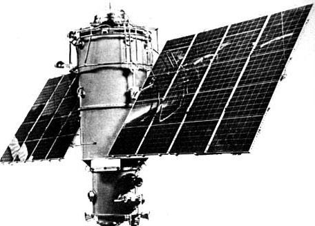 Vệ tinh Liên Xô rơi xuống trái đất