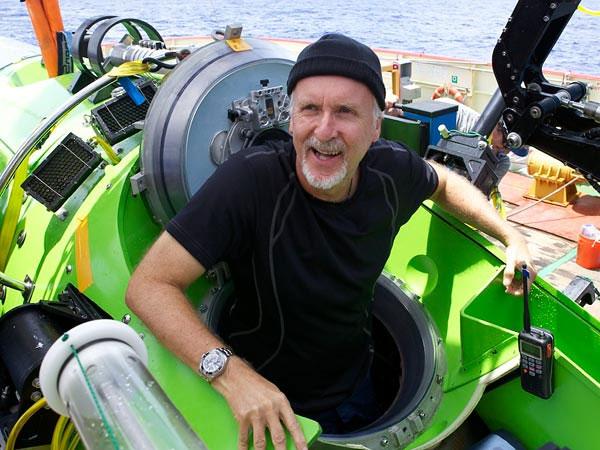 James Cameron và con tàu đưa ông đi thám hiểm nơi sâu nhất Trái Đất.