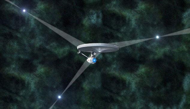 """Hệ thống định vị trong vũ trụ sử dụng ánh sáng tia X từ các ẩn tinh để """"lập lưới tam giác"""" để xác định một vị trí trong vũ trụ."""