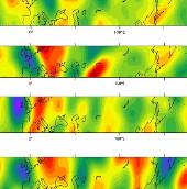 Những làn sóng khổng lồ trong không khí khuấy động thời tiết khắc nghiệt