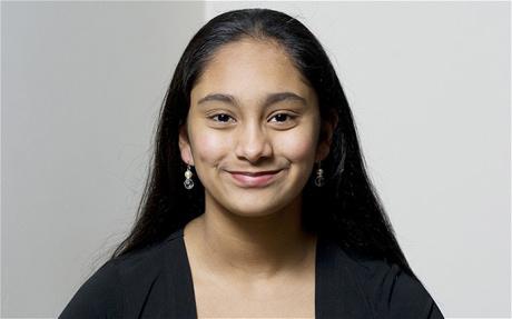 Nữ sinh Neha Ramu, người đầu tiên đạt điểm 162 trong bài thi IQ dành cho lứa tuổi dưới 18 của tổ chức Mensa.