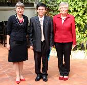 Nhà khoa học Việt Nam nhận giải thưởng cao quý của Đức