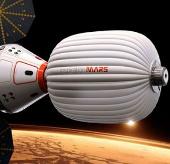 Du khách sao Hỏa phải dùng phân che phủ tàu vũ trụ