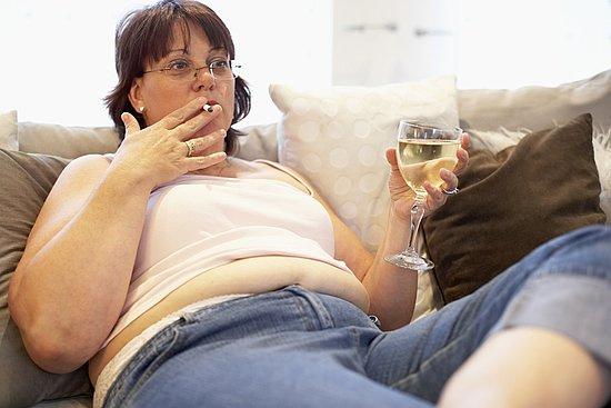 Lười làm việc nhà là một trong những nguyên nhân khiến ngày nhiều phụ nữ béo phì.