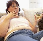 Phụ nữ tăng cân vì lười làm việc nhà