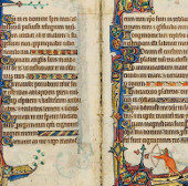 Sử dụng công nghệ 3D để đọc sách từ thời Trung cổ