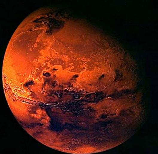 """Nhiều loại vi khuẩn Trái đất có thể """"sống tốt"""" trong điều kiện khí hậu trên sao Hỏa."""